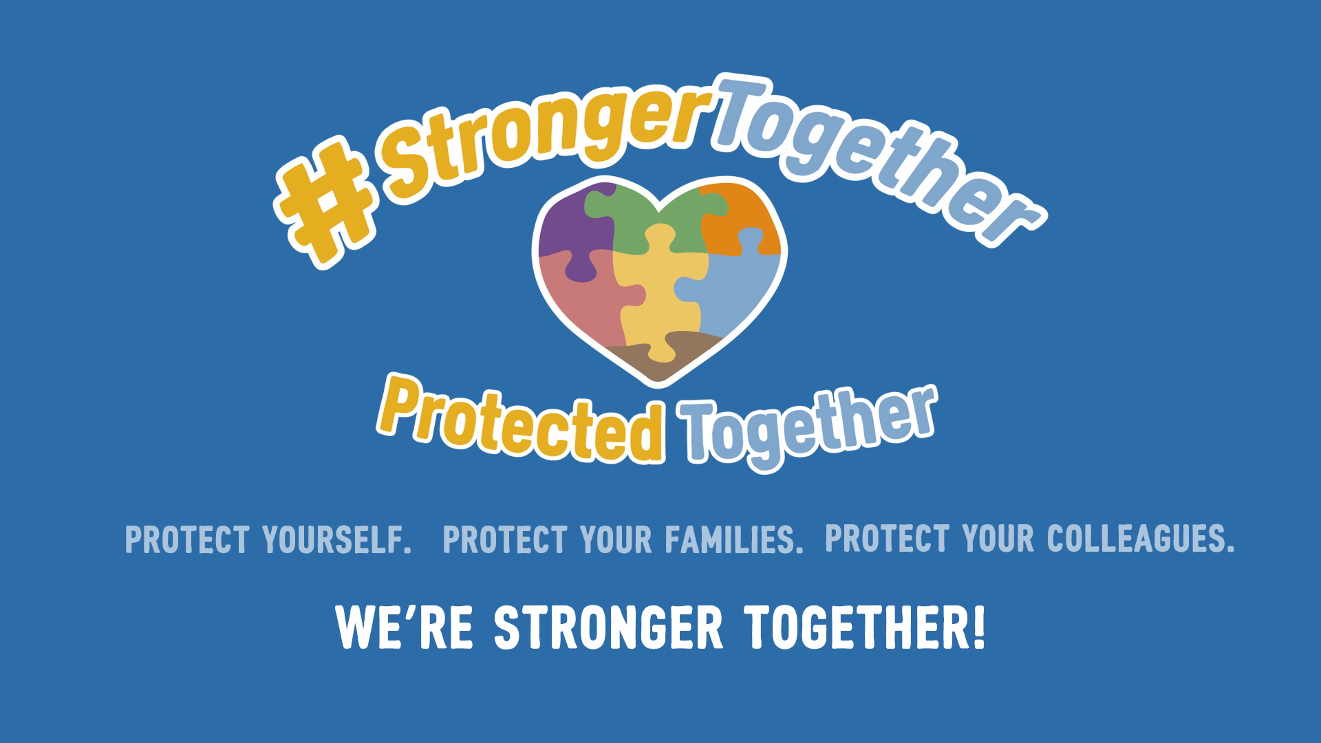 Stronger Together emblem