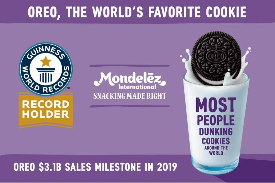 Oreo Cookie - Guinness World Record Holder