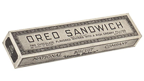 Oreo sandwich box alternate design from 1921.