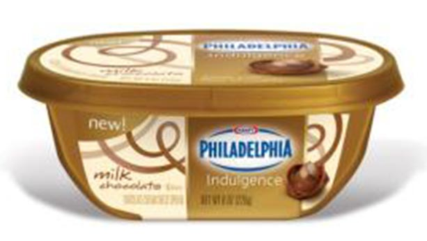 Philadelphia milk chocolate indulgence package from 2012.